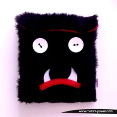 Huu is your ipad protector, ready to fight. Soft Sculpture, Sculptures, Ipad Sleeve, Designer Toys, Ipad Case, Plush, Handmade, Fictional Characters, Art