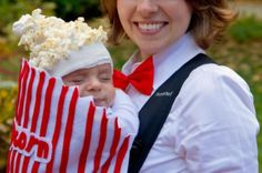 Spaghetti and Meatballs from 10 Brilliant Food-Inspired Kids Halloween Costumes Slideshow