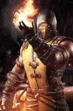 Scorpion é um ninja espectro e um dos principais personagens de jogos da franquia Mortal Kombat...