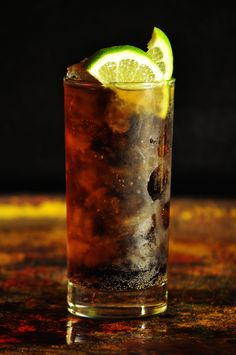 The Doctors Daily Tonic. Cuba Libre 2 oz Rum oz Lime Juice Fill Coke In a tall glass filled with ice add the rum and lime juice. Garnish with a lime wedge. Cocktail Recipes To Impress, Rum Cocktail Recipes, Cocktail Drinks, Alcoholic Drinks, Beverages, Cuba Libre Drink, Cuba Libre Cocktail, Famous Cocktails, Fun Cocktails
