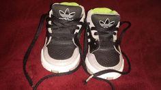 BLACK, GRAY, GREEN ADIDAS SIZE 5K BABY BOYS OR GIRLS TENNIS SHOES SAME DAY SHIP  #adidas #Athletic