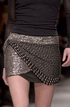 Fashion details | Comment: Riveting Shine. Isabel Marant