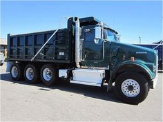 "Our Featured Truck is a 2010 Kenworth W900S, 16' Ox Steel Dump with 54"" Sides, ISM Cummins, 385 HP, 5.38 Ratio, Aluminum Wheels, 100,291 Miles. We have a huge selection of Kenworth Dump Trucks! Check them out at http://www.rockanddirt.com/trucks-for-sale/KENWORTH/ALL-dump-trucks"