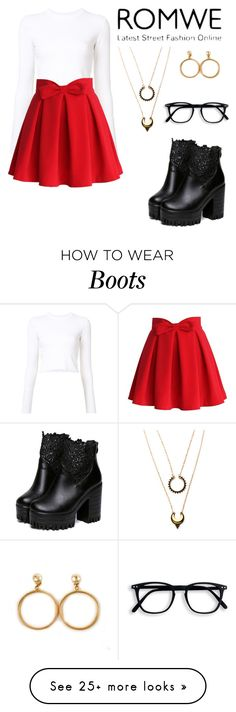 """""""Valentine"""" by melpasta on Polyvore featuring Proenza Schouler, Chicwish, WithChic and Chanel"""