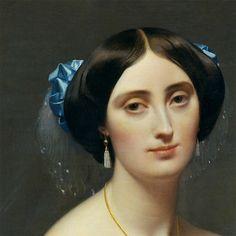 A Most Beguiling Accomplishment: Portrait: Princesse de Broglie, by Ingres Auguste, Fresh Hair, Metropolitan Museum, Portraits, Thing 1, Interesting Faces, Art World, Installation Art, Beauty Women