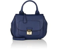 TRUSSARDI Flap-Front Shoulder Bag. #trussardi #bags #shoulder bags #hand bags #leather #