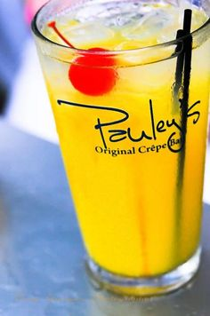Pauley's Original Crêpe Bar, Athens, GA. So yummy-- you can do a build-your-own crêpe and they've also got a nice little selection of hard ciders (the beverage of choice for northern Frenchies when eating crêpes).