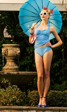 ShabbyApple.com Sailboat #vintage #retro #swimwear