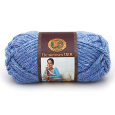 Lion Brand Hometown USA Prints Yarn in Gardens