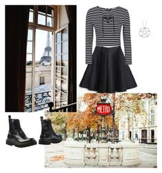 """Read the description"" by teganself ❤ liked on Polyvore featuring Topshop and Jeffrey Campbell"