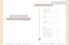 Blog Planner: organize o seu blog - Sernaiotto