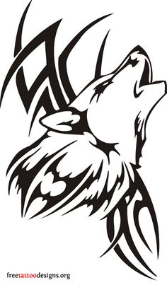 60 Awesome wolf tattoos + more about the meaning of wolves. Designs include tribal and howling wolves, wolf head and paw tattoos. Wolf Tattoos, Tribal Wolf Tattoo, Wolf Tattoo Design, Tribal Tattoo Designs, Body Art Tattoos, Tribal Tattoos, Sleeve Tattoos, Polynesian Tattoos, Tattoo Arm