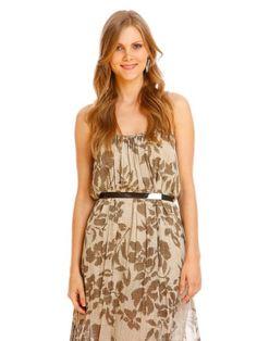 vestidos em chiffon estampados longos