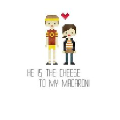 Juno and Paulie Cross Stitch por YouMakeMeSewHappy en Etsy Cross Stitching, Cross Stitch Embroidery, Cross Stitch Patterns, Juno Quotes, Stitch Movie, Favorite Movie Quotes, Key To My Heart, Pixel Art, Craft Supplies