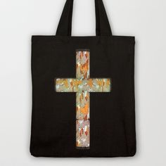 Holy Domino.0.2 Tote Bag by Galvanise The Dog - $18.00