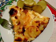 Francúzske zemiaky - Dnešný obed.