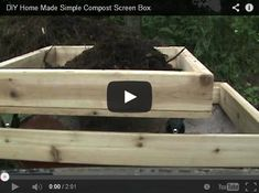Got a wheelbarrow that you'd like to be able to screen your compost into? Here's a cool DIY Compost Screening piece of equipment you can build yourself.