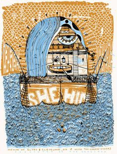 She&Him poster $20