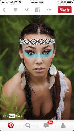 Native American princess warrior