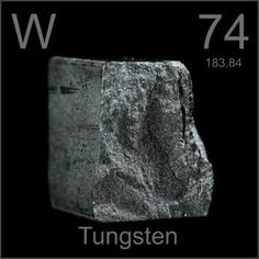 Tungsten is THE BEST element! It is unmatched in strength, only beaten by diamond. Known for its resiliency toward heat, it is used in rocket engines, light bulbs, and welding torches, to name a few things. I love Tungsten (Did i mention its AWESOME?)