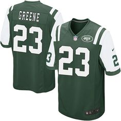 Youth Nike NFL New York Jets http://#23 Shonn Greene Game Team Color Green Jersey$59.99