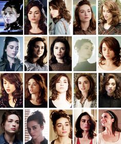 Allison Argent's season 3a hairstyles