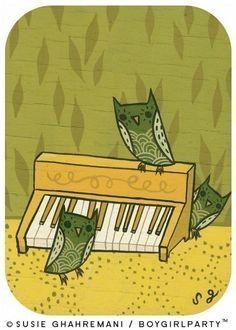 """Organ Owls"""