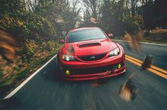 Such a great picture of a Subaru WRX