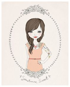Kelli Murray illustration