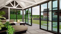 Breezeway, Conservatory, Stockholm, Windows, Garden, Room, Modern, Furniture, Home Decor