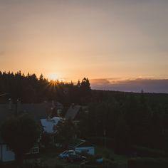 Sonnenuntergang Oberbärenburg