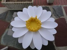 Large Paper Daisy Extra Large Paper Flower and by PoshStudios, $53.00