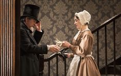 Denis Conway and Danielle Galligan in The Heiress by Ruth and Augustus Goetz, based on the novel Washington Square by Henry James. Picture by Pat Redmond Washington Square, Dublin City, Theatre, Novels, Attic, Pictures, Characters, Future, Women