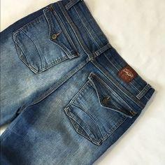 "Sweet vibes Like new 25"" long Jeans"