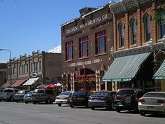 """Downtown in Rapid City aka """"Riverville"""""""