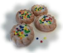 8 Candle Tartlet Tart Melts with Stars