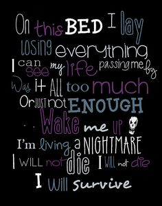 Time Of Dying Three Days Grace lyrics
