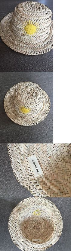 Hats 163224: Bobo Choses Straw Yellow Sunshine Hat Hand Made Embroidered Hard To Find -> BUY IT NOW ONLY: $79.2 on eBay!
