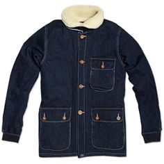 Bleu de Paname Double Counter Jacket (Denim)