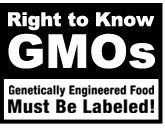 You'll never know what's in your food, unless it's labeled.