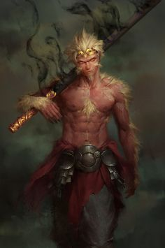 ArtStation - Monkey king, Enforcer 12
