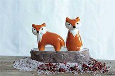 Fox Salt & Pepper Shakers