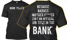 Bank Teller Shirts