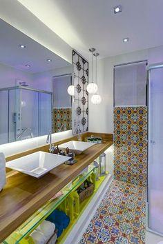 Ter ou não ter um banheiro com duas pias? Eis a questão                                                                                                                                                      Mais