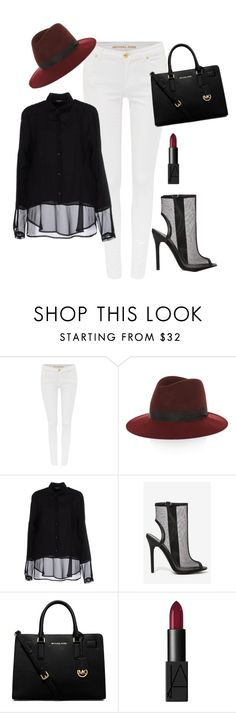 """Work - it"" by a-baggetta on Polyvore featuring Michael Kors, rag & bone, Siste's, MICHAEL Michael Kors and NARS Cosmetics"