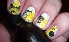 Melhores Makes: Unhas splatter são a novidade em unhas decoradas