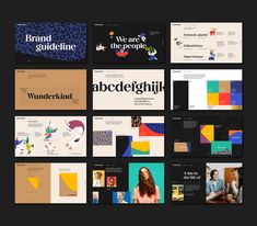 MultiAdaptor gives Wunderkind a brand refresh to 'unleash the power of individuality' | Creative Boom Brand Guidelines Design, Company Values, Marketing Technology, Brand Book, Design System, Design Language, New Names, Deconstruction, Guide Book