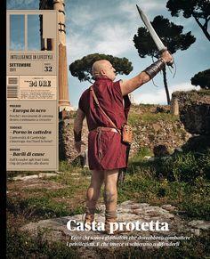 IL — Intelligence in lifestyle n.32  Il maschile de 'Il Sole 24 ORE'  Casta Protetta  Art director: Francesco Franchi