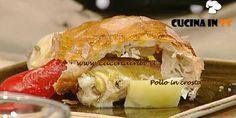 Pollo in crosta ricetta Bonci La Prova del Cuoco | Cucina in tv Chicken, Meat, Tv, Recipes, Food, Eten, Recipies, Ripped Recipes, Recipe