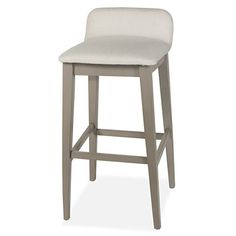 For both comfort and class, you can't go wrong with the Maydena Non-Swivel Counter Stool from Hillsdale Furniture. Featuring a low back and foot rest, this counter height stool is at home at the kitchen counter, breakfast bar or counter height dining